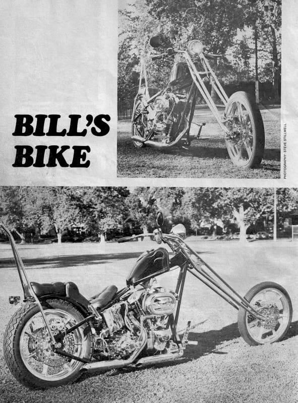 john harman custom chopper spirder magazine glorious motorcycles